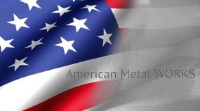 american metal works logo