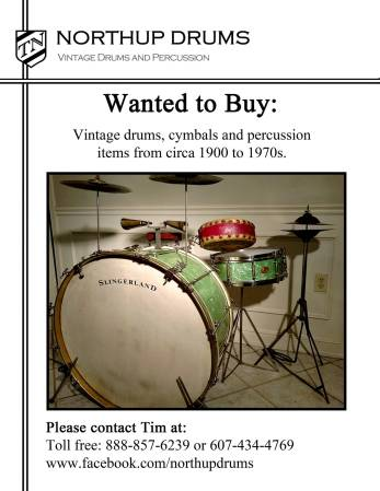 Northup Drums Poster II